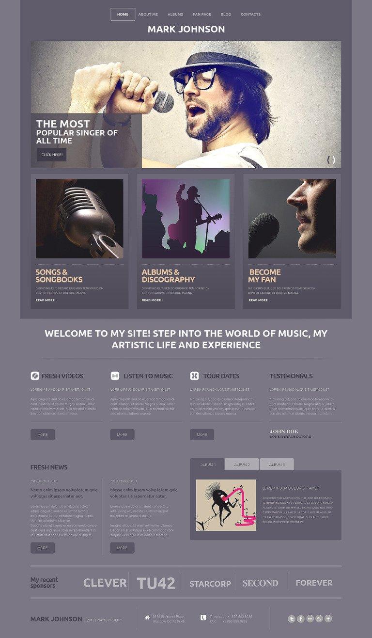 Singer Responsive WordPress Theme New Screenshots BIG