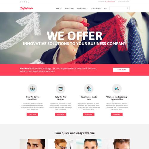 Spera - HTML5 Drupal Template