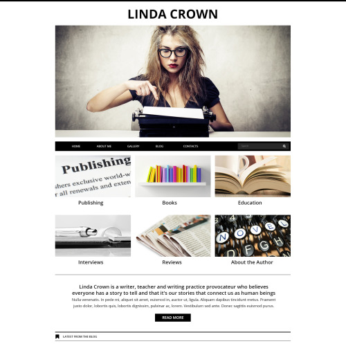Linda Crown - Joomla! Template based on Bootstrap