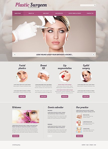 Joomla Theme/Template 50600 Main Page Screenshot