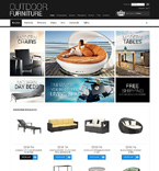 Furniture ZenCart  Template 50602
