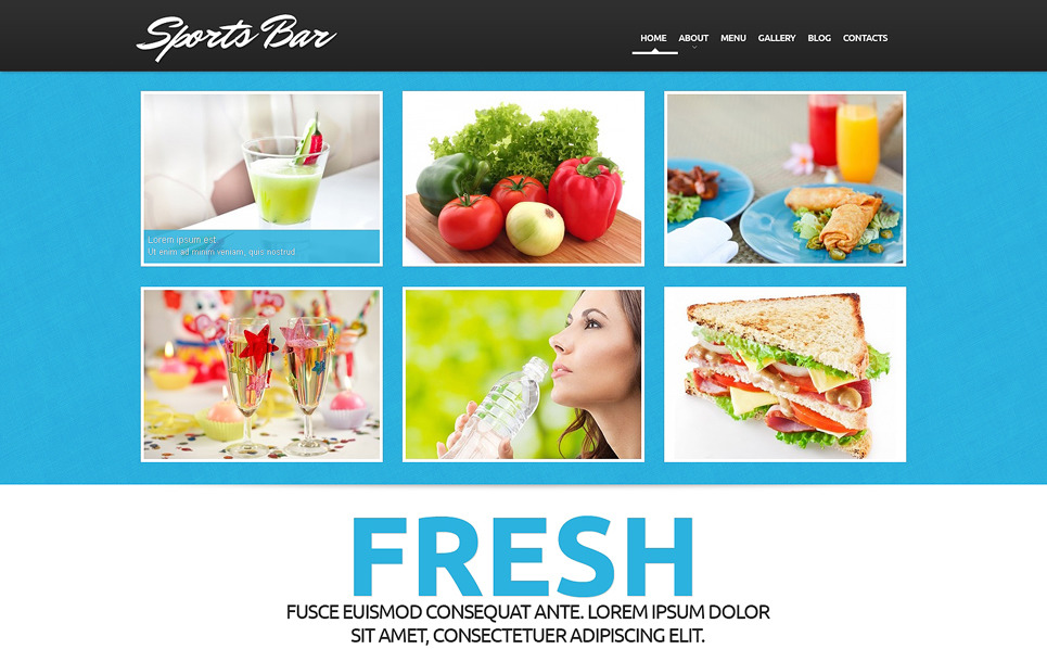 Responsive WordPress thema over Café  New Screenshots BIG