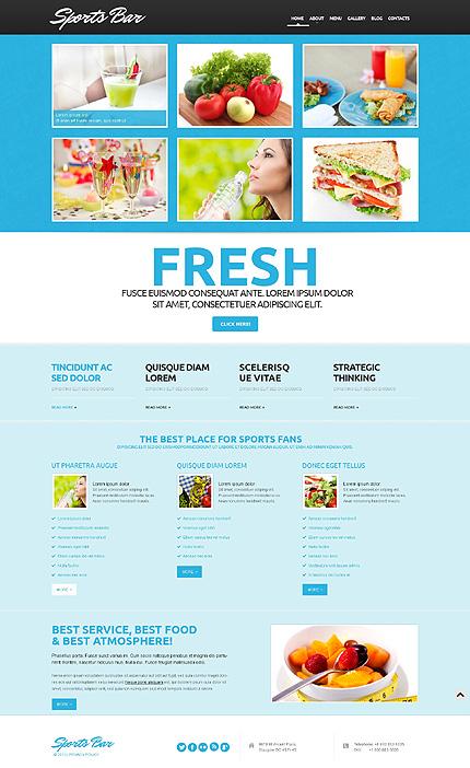 WordPress Theme/Template 50606 Main Page Screenshot