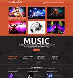 Entertainment WordPress Template 50607