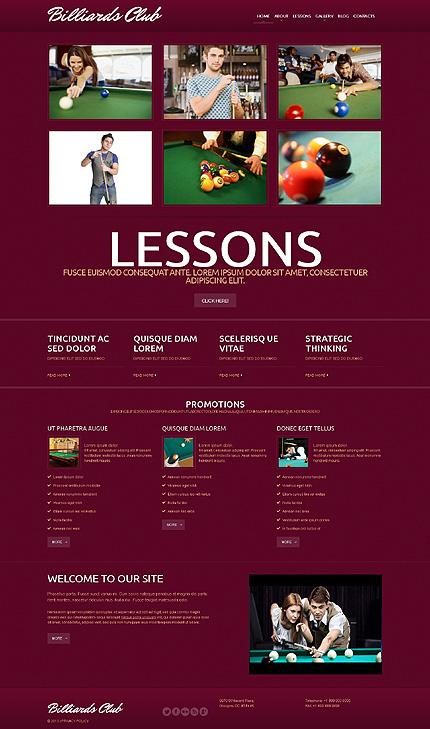 WordPress Theme/Template 50608 Main Page Screenshot