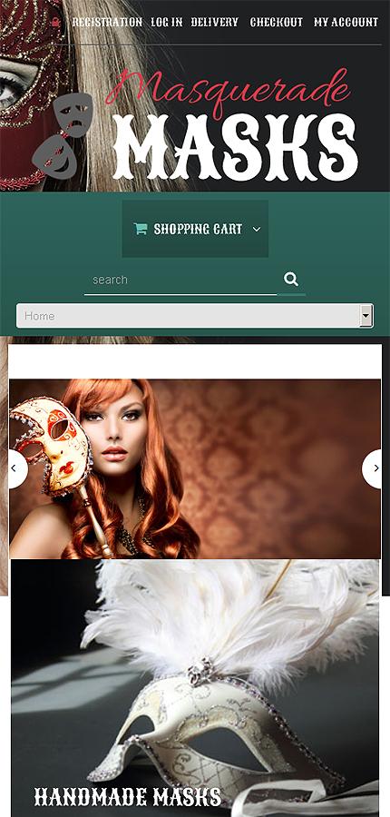 ADOBE Photoshop Template 50610 Home Page Screenshot