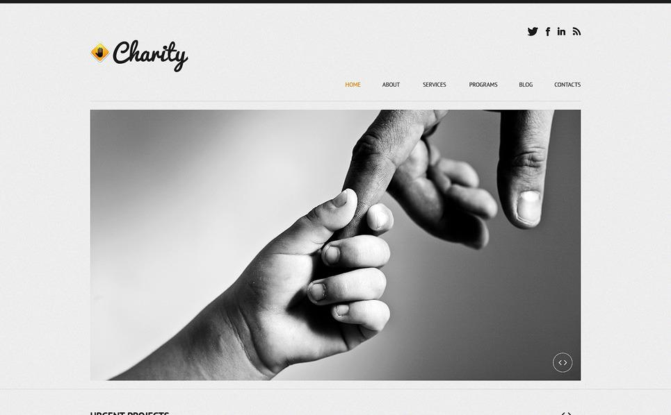 Responzivní WordPress motiv na téma Dětská charita New Screenshots BIG