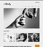 Charity WordPress Template 50611