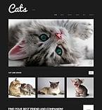 Animals & Pets WordPress Template 50613