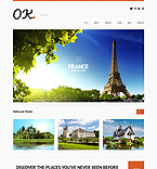 Travel WordPress Template 50614