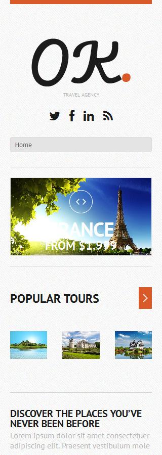 WordPress Theme/Template 50614 Main Page Screenshot
