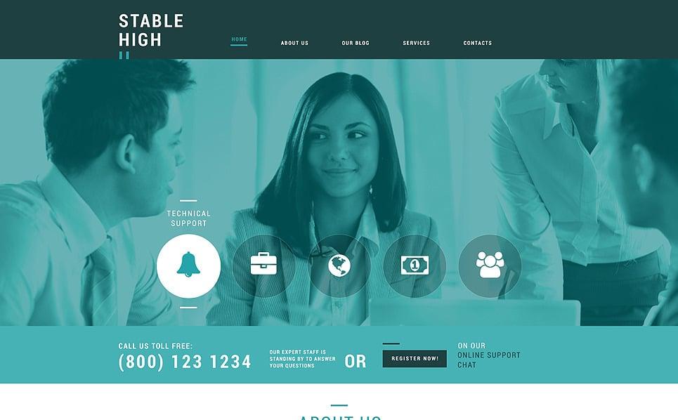 Responsive Management Company Templates Joomla Şablonu New Screenshots BIG