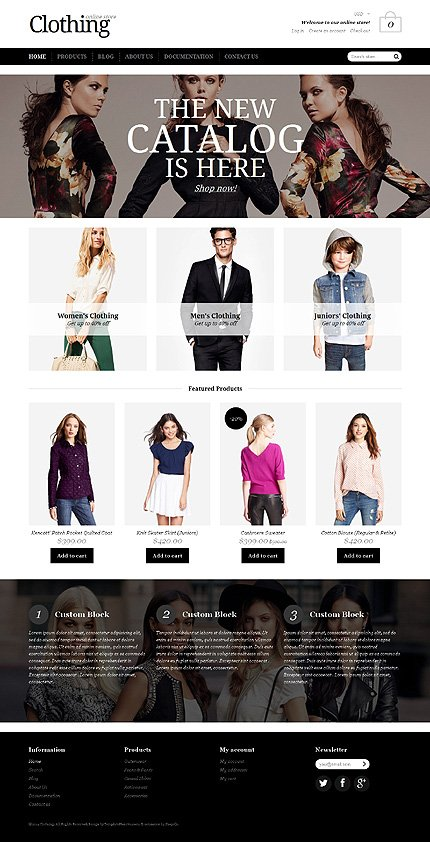 ADOBE Photoshop Template 50623 Home Page Screenshot