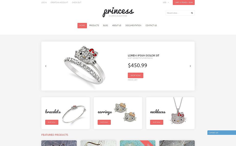 Responsywny szablon Shopify #50625 na temat: biżuteria New Screenshots BIG