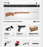 Military Magento Template 50632