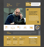 Personal Page Website  Template 50638