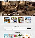 Hotels Website  Template 50639