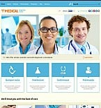 Medical Flash CMS  Template 50646