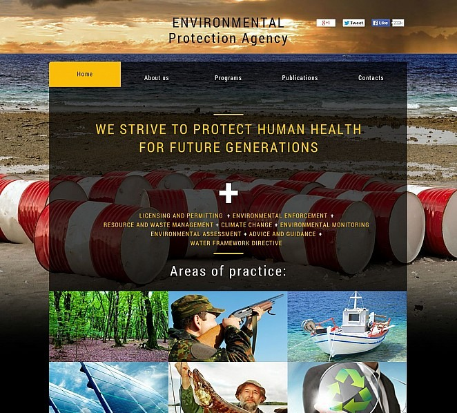 Premium Çevresel  Flash Cms Şablon New Screenshots BIG