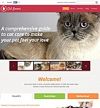 Animals & Pets Flash CMS  Template 50656