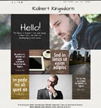 Personal Page WordPress Template 50663