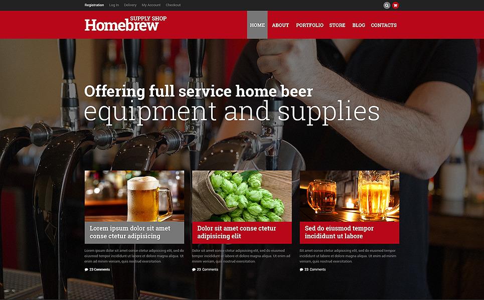 Responsive WooCommercie Thema over Brouwerij  New Screenshots BIG