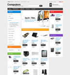Computers osCommerce  Template 50672