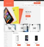 Electronics osCommerce  Template 50673