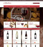Food & Drink OpenCart  Template 50674