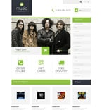 Music OpenCart  Template 50675