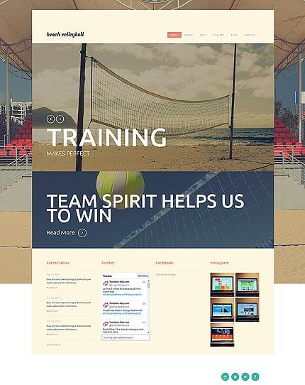 Joomla Theme/Template 50681 Main Page Screenshot