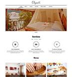 Hotels Joomla  Template 50684