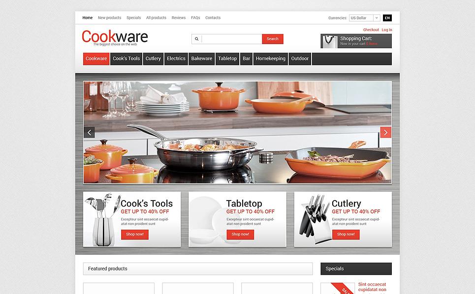 Plantilla ZenCart #50689 para Sitio de Artículos para el hogar New Screenshots BIG