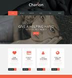 Charity WordPress Template 50690