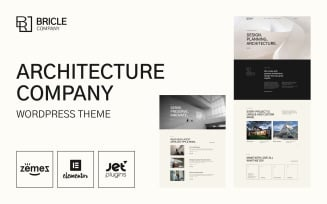 Bricle - Bootstrap Architecture WordPress Theme