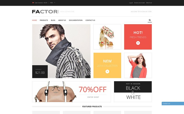 Fashion Store Responsive Shopify Theme