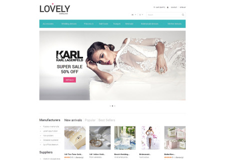 Free Wedding Shop Prestashop