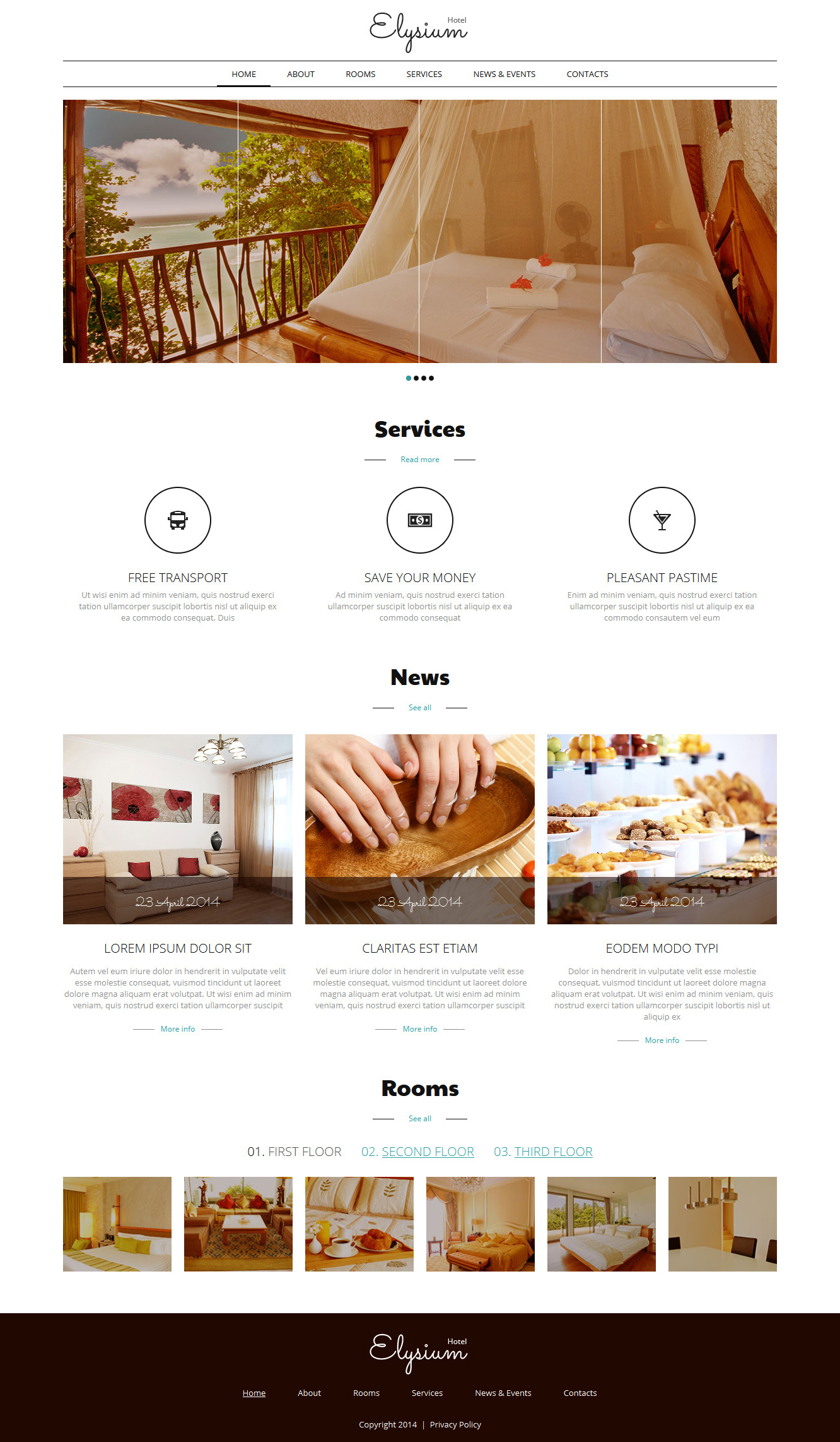 Hotels motels joomla template 50684 for Joomla hotel template