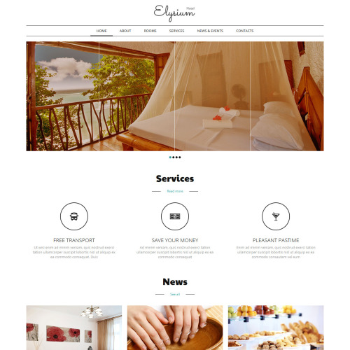 Elysium - Joomla! Template based on Bootstrap