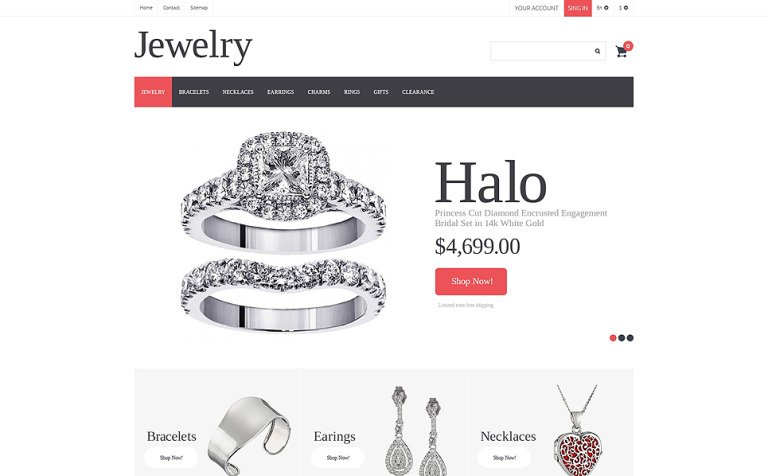 Jewelry PrestaShop Theme