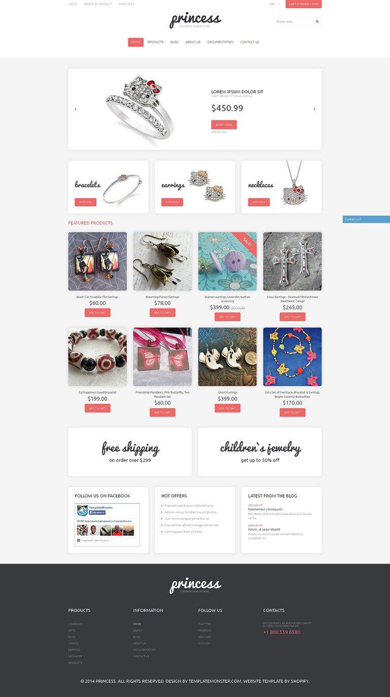 Jewelry Responsive Shopify Theme New Screenshots BIG