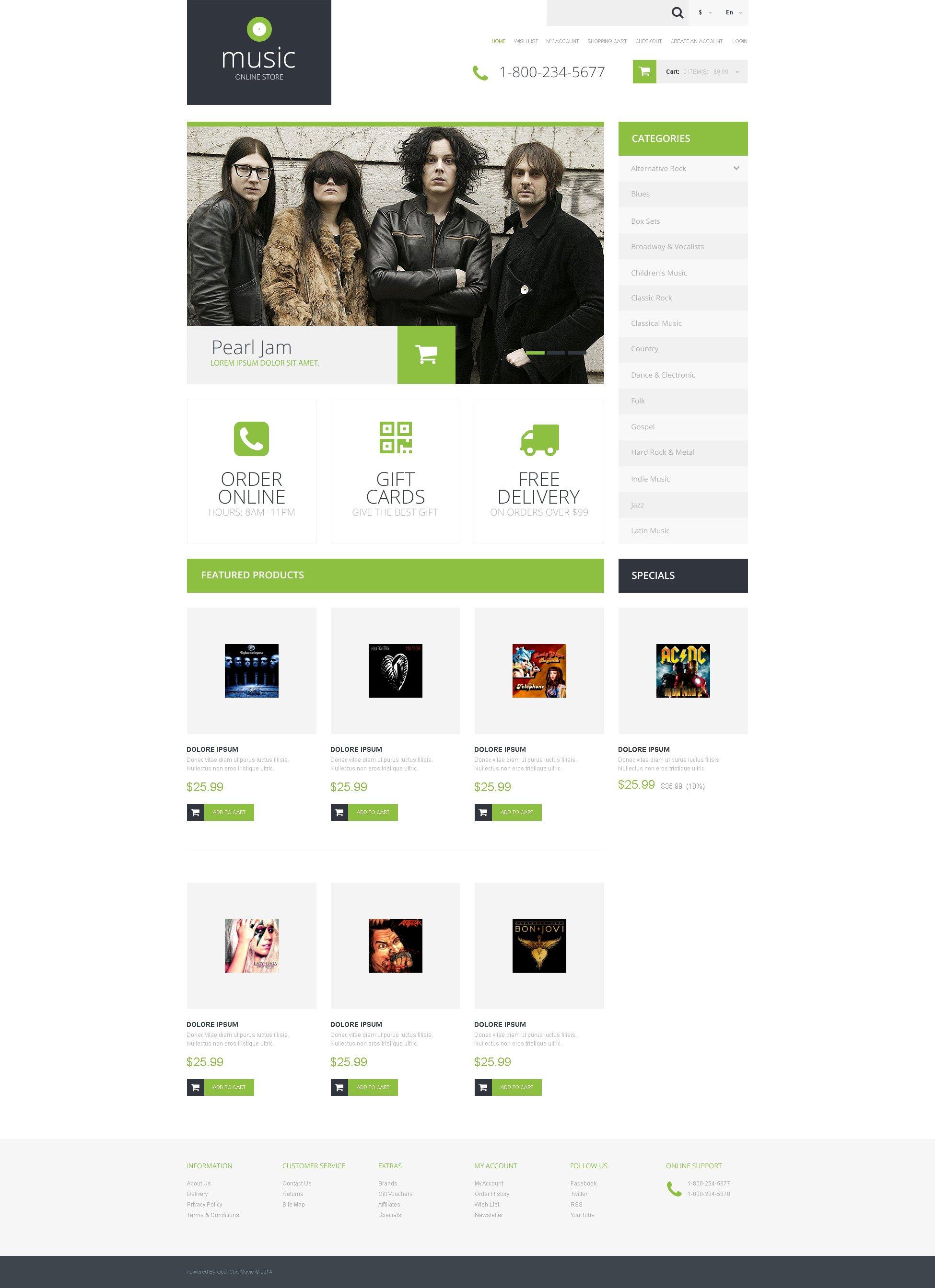 music store responsive opencart template 50675 original Top Result 60 Inspirational Opencart Bookstore Template Gallery 2017 Phe2