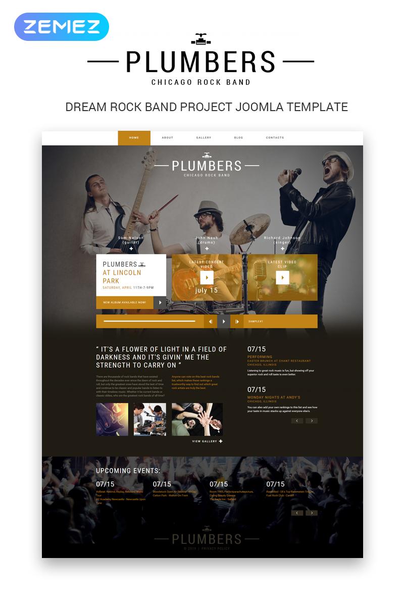 Plantillas Joomla para Sitios de Música | Template Monster