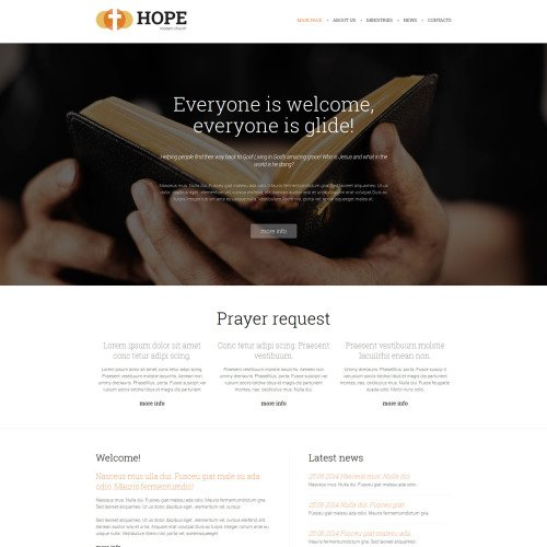 Hope - Joomla! Template based on Bootstrap