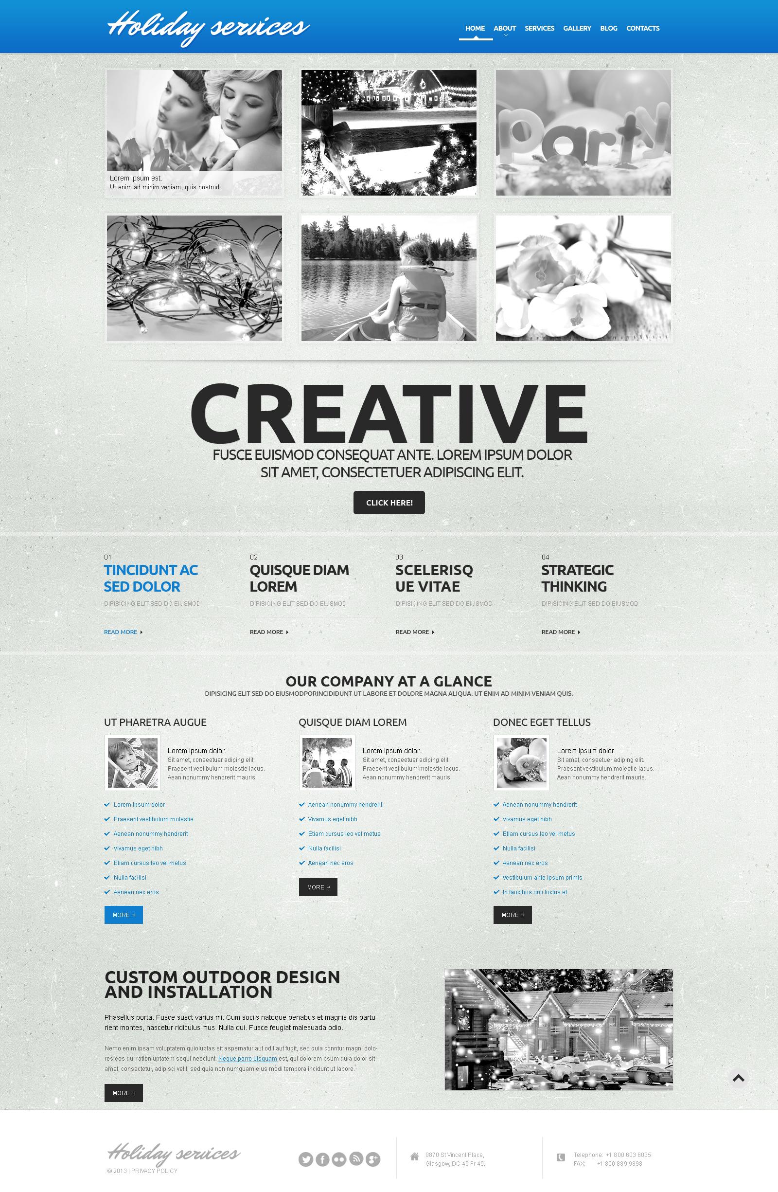 "Responzivní WordPress motiv ""Entertainment.Event Planner Template"" #50605"