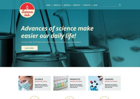 Science Lab Responsive