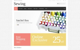 Sewing Opportunities Magento Theme