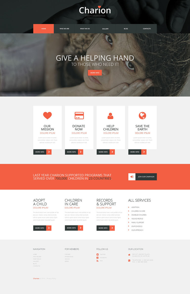 Tender Heart Community WordPress Theme New Screenshots BIG