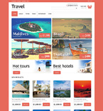 Travel Magento Template 50702