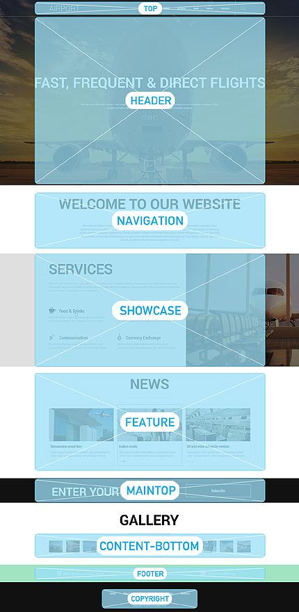 Joomla Theme/Template 50704 Main Page Screenshot